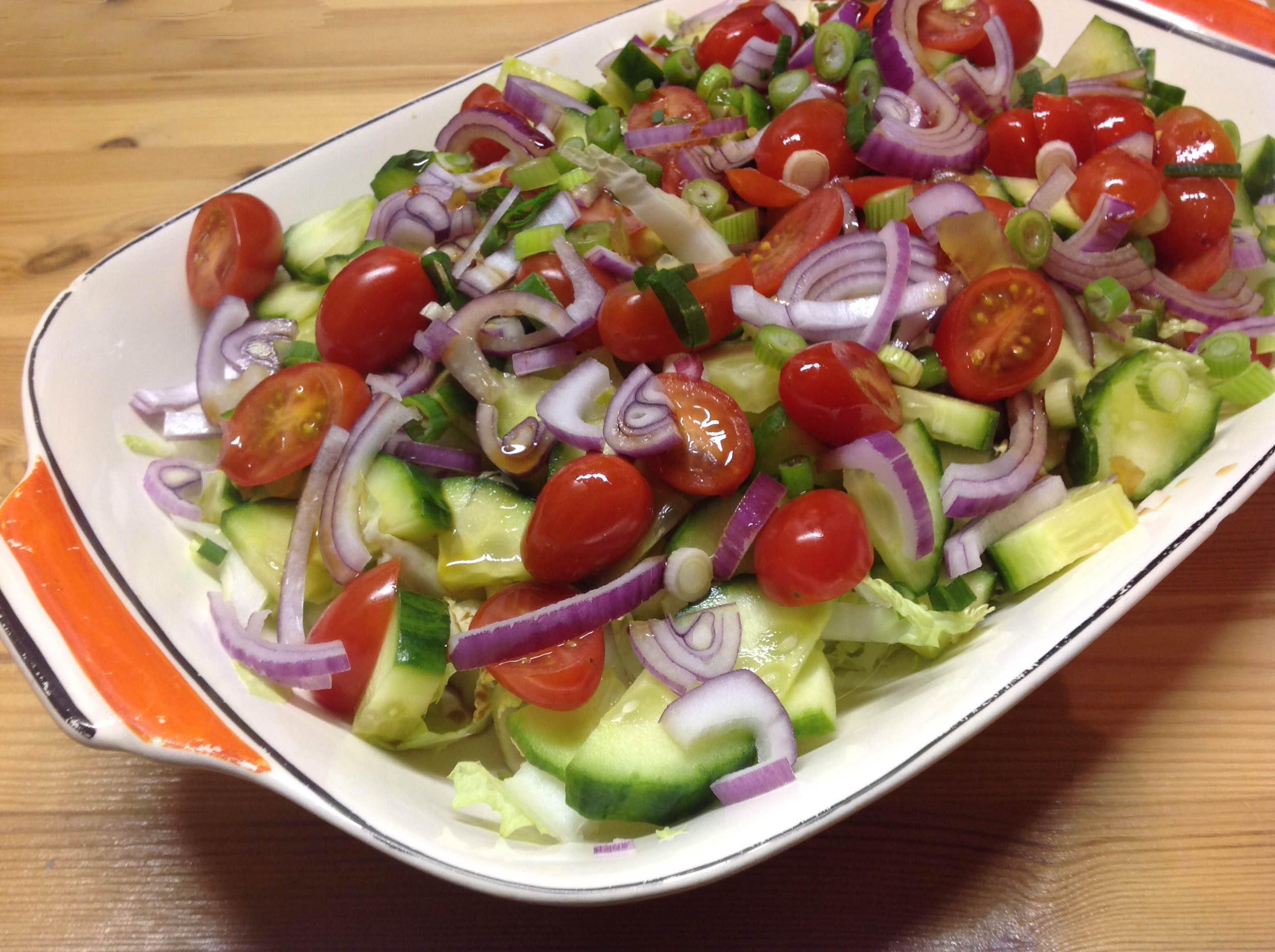 Thaise groene salade