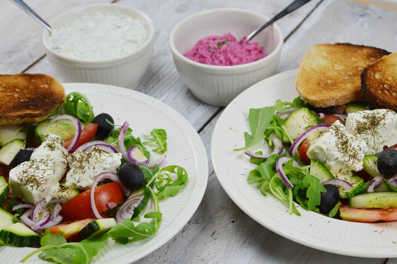 Griekse boerensalade (Choriatiki Salata)