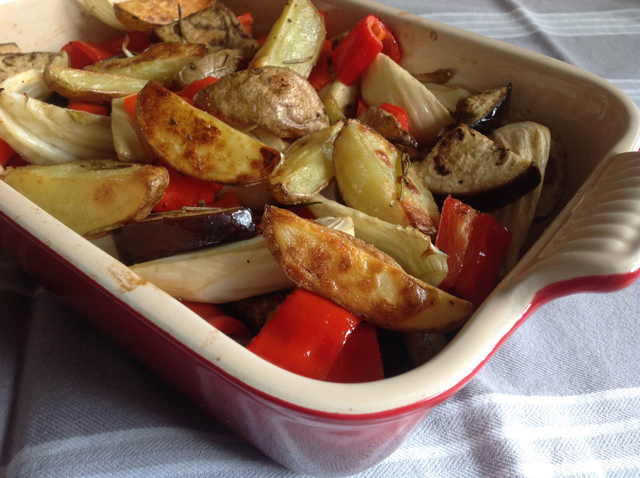Geroosterde groentes