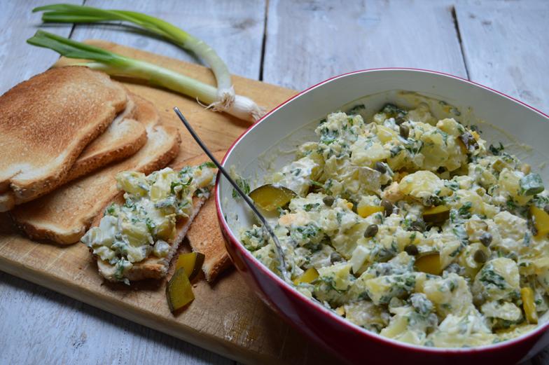 Klassieke aardappelsalade