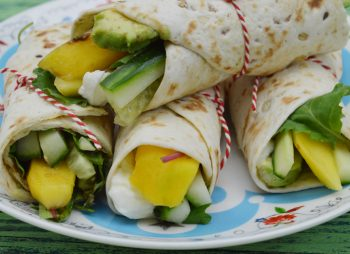 Wraps voor picknick of strand