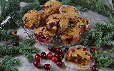 Muffins met cranberries