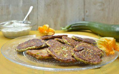 Griekse courgettekoekjes