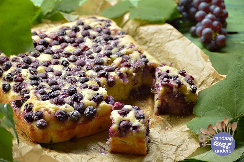 Toscaanse druivencake