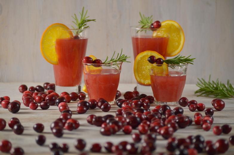 Cranberry-sinaasappelsap