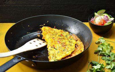 Masala omelet