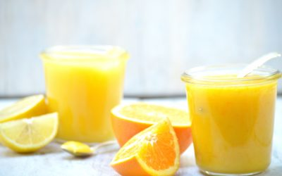 Lemon curd en orange curd