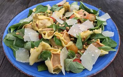 Salade met tortellini
