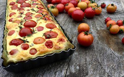 Makkelijk tomatentaartje